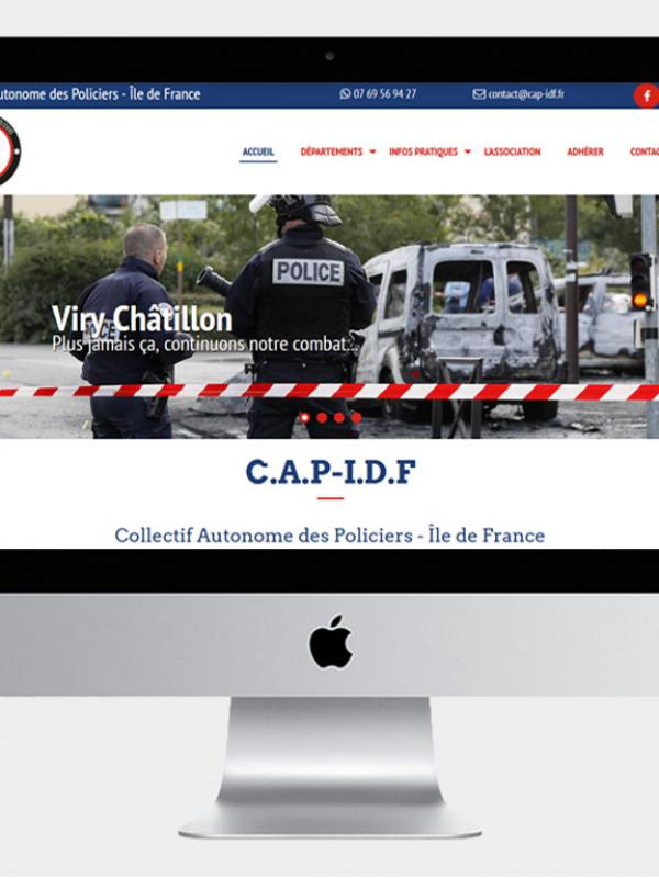 CAP IDF - Site internet