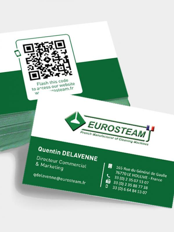 Eurosteam - Carte de visite